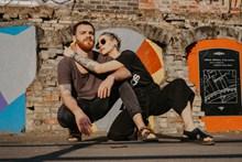 国外情侣写真合照高清图片
