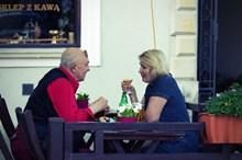 外国老夫妻约会精美图片