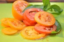 西红柿切片高清图