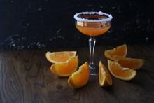 橘橙鸡尾酒精美图片