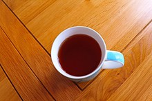 一杯冰红茶精美图片