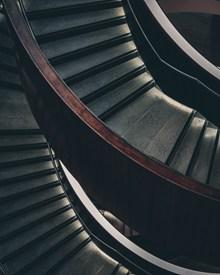 旋转楼梯局部特写图片素材