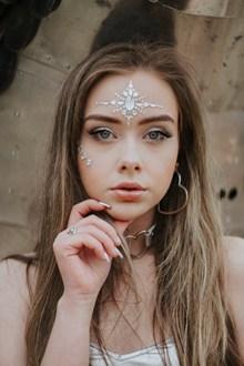 长发乌克兰美女高清图片