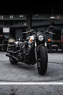 帅气摩托车高清图片