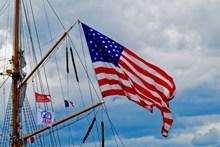 美国标志国旗图片
