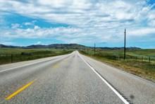 筆直高速公路景觀圖片大全