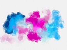 水彩抽象紋理背景高清圖