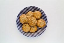 自制芝麻饼干图片大全