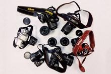 多种品牌相机高清图