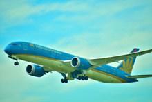 蓝色飞机图片大全