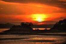唯美落日晚霞景观精美图片