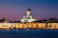 赫尔辛基大教堂高清图片