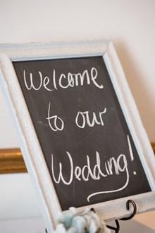 婚礼欢迎指示牌图片