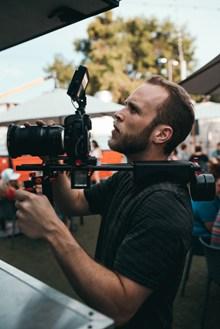 男摄影师工作精美图片