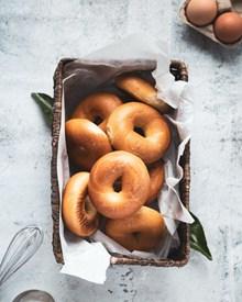 原味甜甜圈图片
