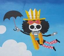海賊王骷髏漫畫設計圖片下載
