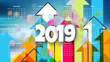 2019年全年日历彩图图片