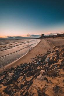 海边沙滩真实风景高清图片