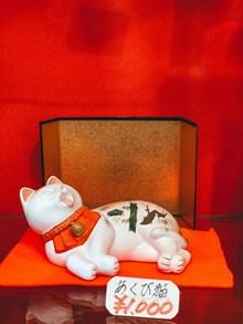 卡通招财猫摆件图片素材