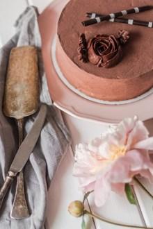 巧克力玫瑰慕斯蛋糕 巧克力玫瑰慕斯蛋糕大全高清图