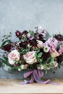 新娘手捧花鮮花精美圖片