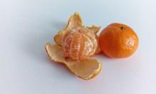 橙色甜橘子高清图片