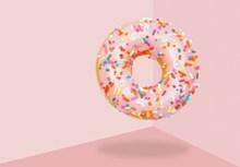粉色马卡龙背景图片素材