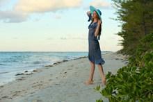 海边美女人体艺术高清图片