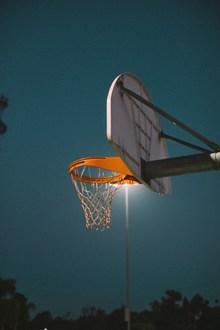 篮架篮筐特写精美图片