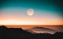 傍晚黄昏风景唯美意境高清图
