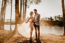 外景婚纱写真摄影高清图