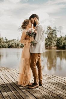 外景婚纱写真照片高清图片