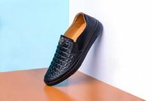 黑色男士皮鞋图片