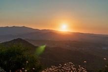 塞浦路斯日落景观图片大全