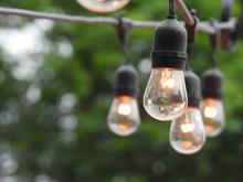发电照明灯泡高清图片