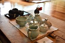 整套陶瓷茶具图片下载