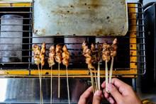 自制烤肉串圖片素材