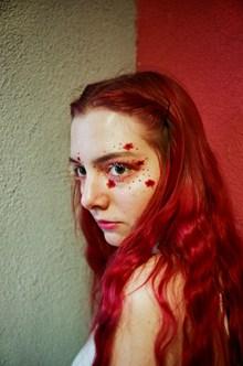 美女个性眼妆图片下载