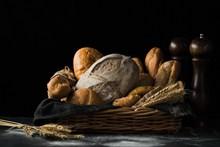 杂粮全麦烘焙面包图片大全