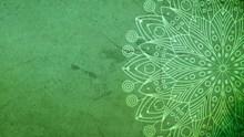 绿色墙面背景高清图