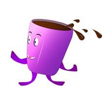 卡通咖啡素材图片下载