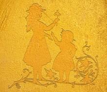 黃色卡通人物設計精美圖片