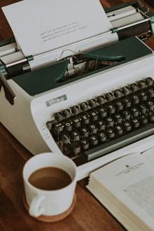英文打字机高清高清图片
