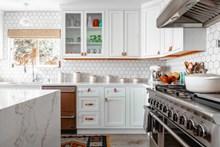 欧式整体厨房图片大全