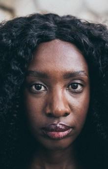 非洲黑人美女头像图片下载