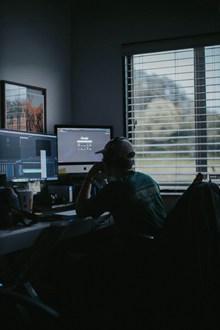 程序员工作室工作高清图片