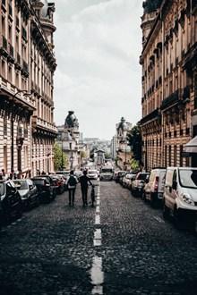 欧洲城市街道建筑图片