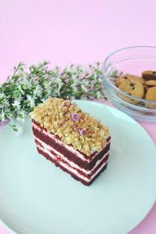 红丝绒蛋糕精美图片
