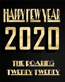 2020年新年快乐海报图片下载