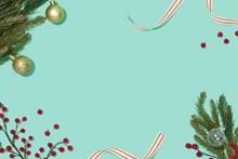 圣诞PPT简约淡雅背景高清图片